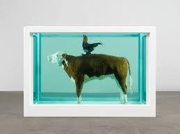 Damien Hirst animaux formol