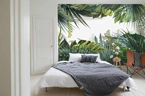 papier-peint-trompe-l'oeil-jungle-deco-chambre
