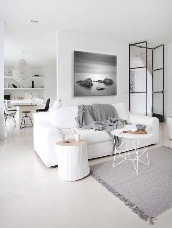 quel tableau design au dessus de mon canap blanc blog izoa. Black Bedroom Furniture Sets. Home Design Ideas