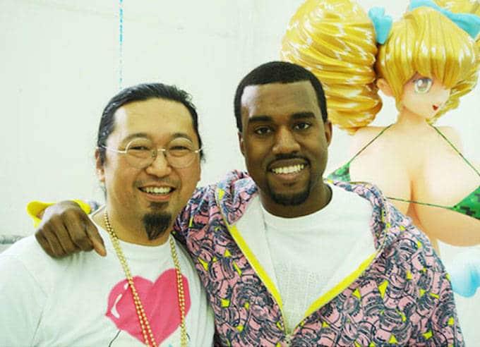 Takashi Murakami et kanye west