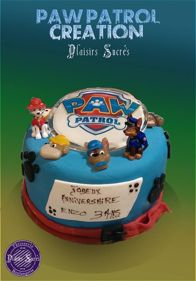 gâteau anniversaire gaçon