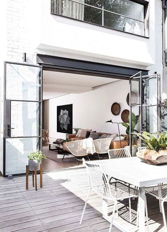 décoration extérieure et intérieure moderne