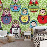 papier-peint-chambre-ados-original