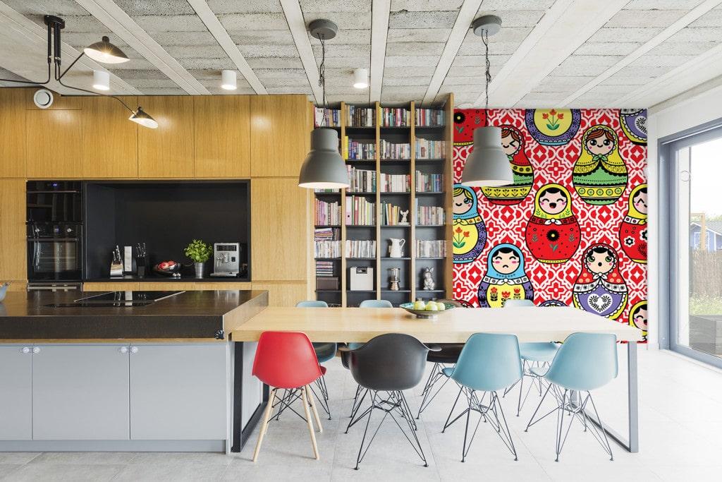 tapisserie chambre enfant poup es russes nouveaut. Black Bedroom Furniture Sets. Home Design Ideas