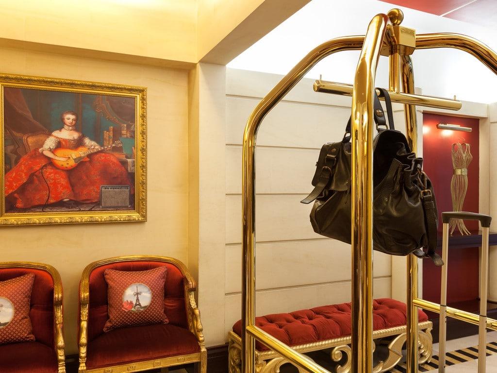 décoration hotel Waldorf tableau original Izoa