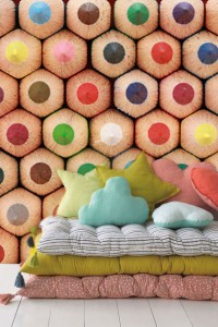 papiers peints colorés chambre enfant
