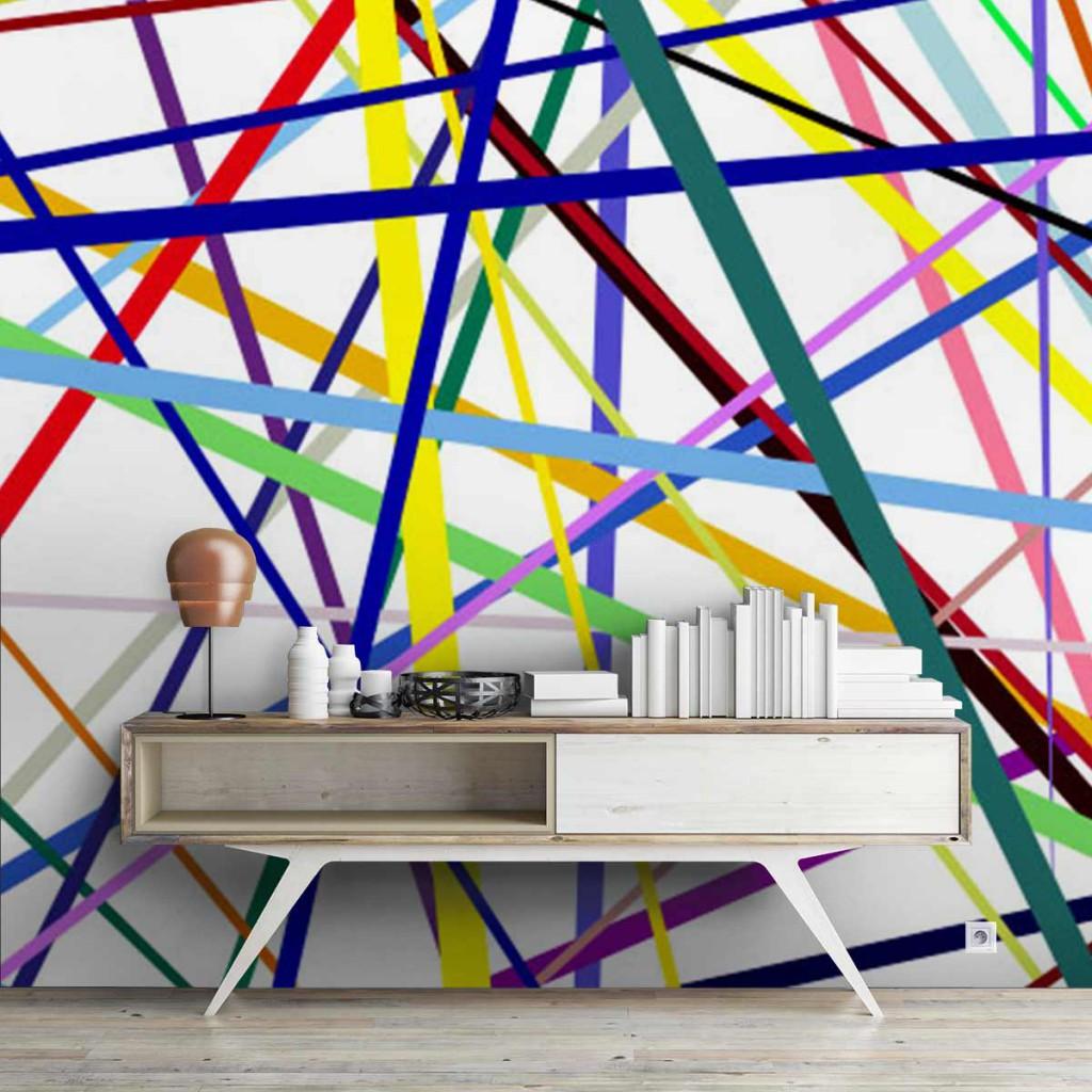 papiers peints colorés