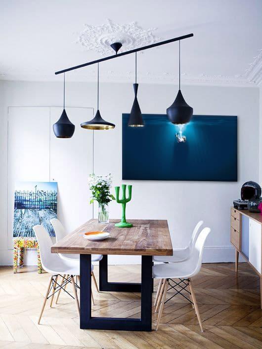 décoration murale design pour salle à manger moderne