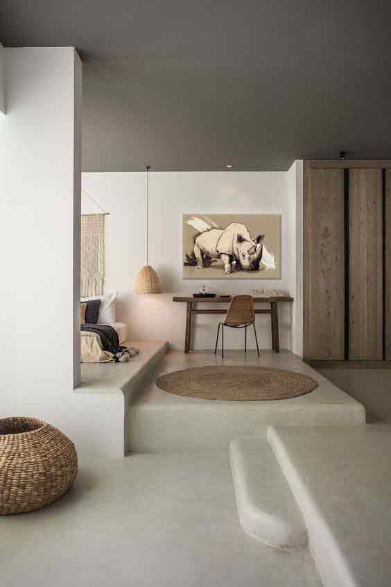deco ethnique moderne chambre inspiration indienne moderne avec mobilier ethnique design. Black Bedroom Furniture Sets. Home Design Ideas