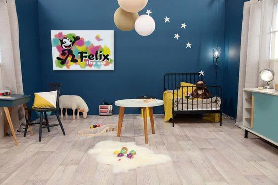 toile-decoration-chambre-enfant-colorée
