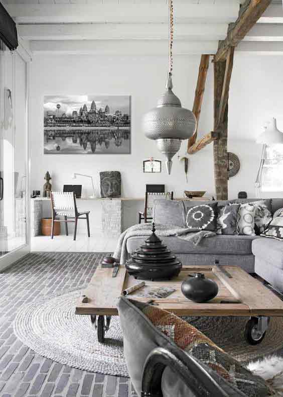 toile-imprimee-noir-et-blanc-ankor