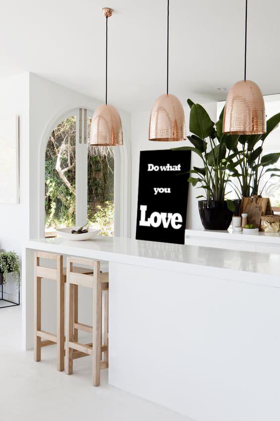 décoration cuisine blanche