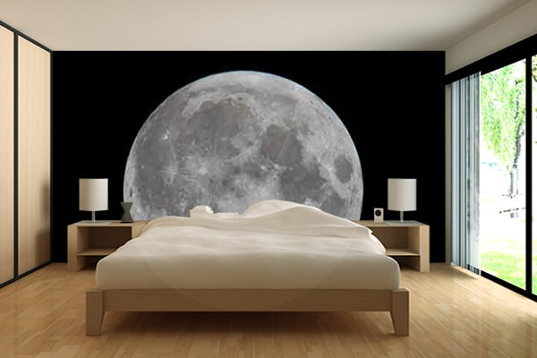 papier peint chambre th me espace blog izoa. Black Bedroom Furniture Sets. Home Design Ideas