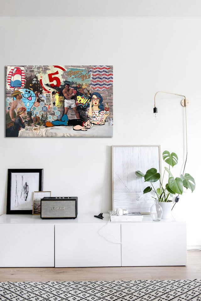 decoration-pop-art-interieur-minimaliste