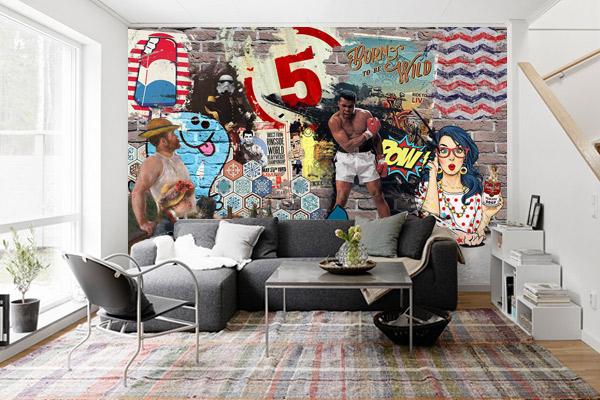 papier-peint-mural-moderne