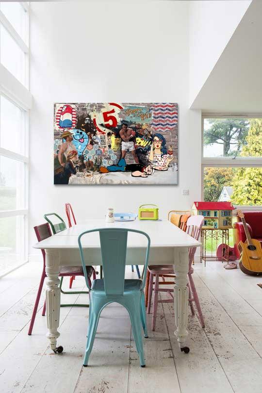 tableau-moderne-pop-art-pow
