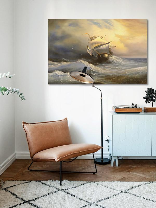 tableau-theme-marin-interieur-retro