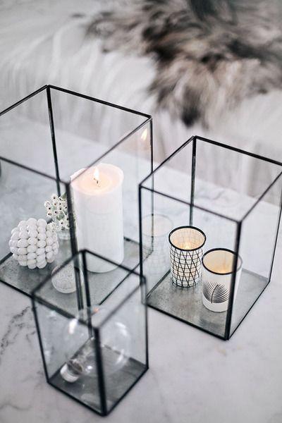 des bougies pour déco cocooning