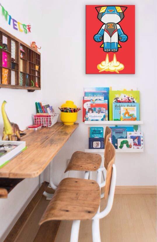 decoration bureau enfant tableau moderne Izoa