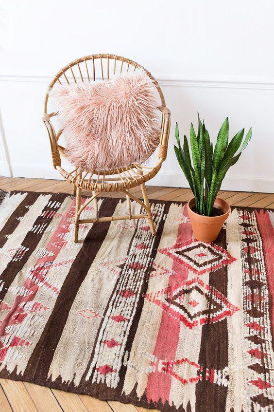 tapis pour ambiance ethnique