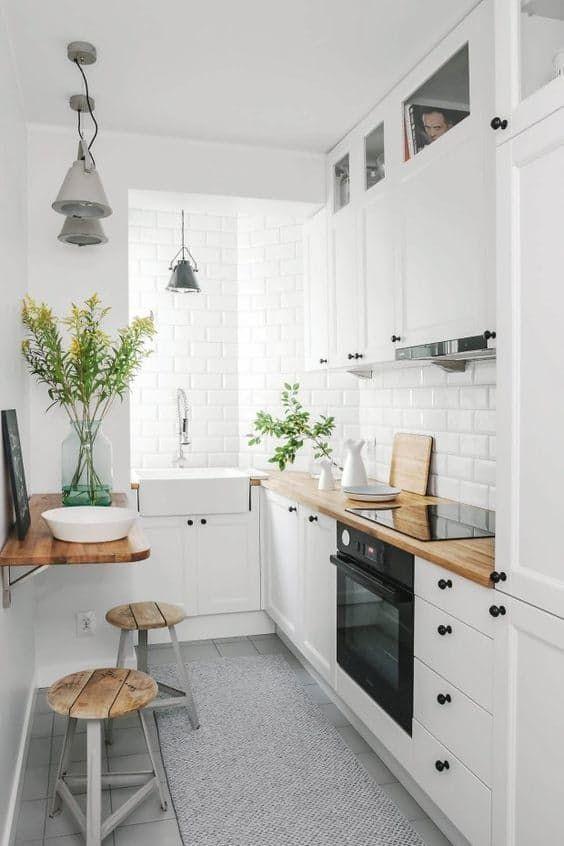 Connu Aménager et décorer une cuisine en longueur OJ28