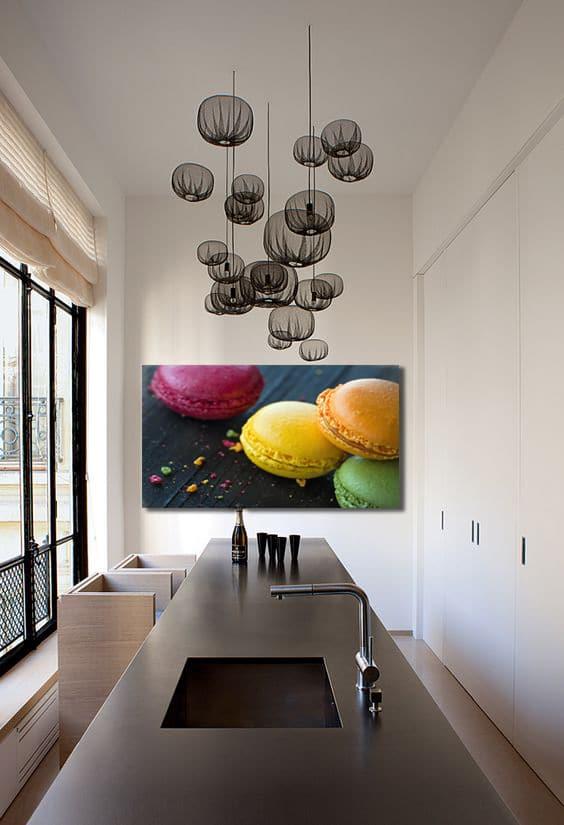am nager et d corer une cuisine en longueur blog izoa. Black Bedroom Furniture Sets. Home Design Ideas
