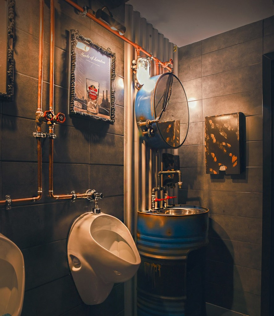 Decoration Industrielle Restaurant : Décoration de restaurants toile design et moderne d