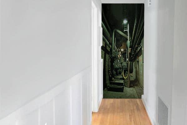 papier-peint-couloir-trompe-oeil-usine