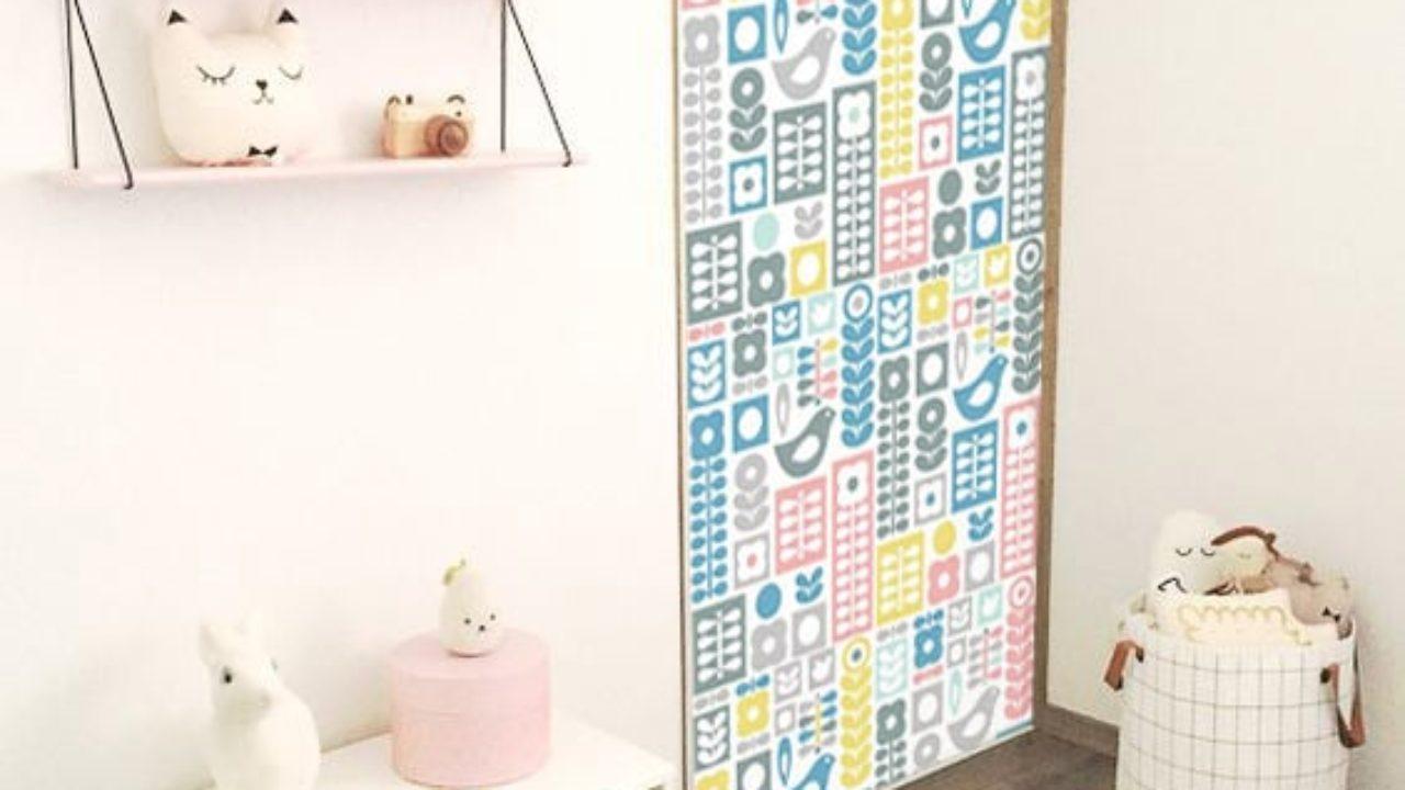 Deco Porte De Placard idée déco : tapisser ses portes de placards - blog izoa