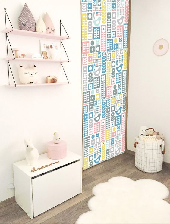 Id e d co tapisser ses portes de placards for Papier peint design chambre adulte