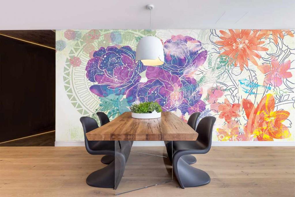 poster-geant-design-fleurs-experimentales-violet