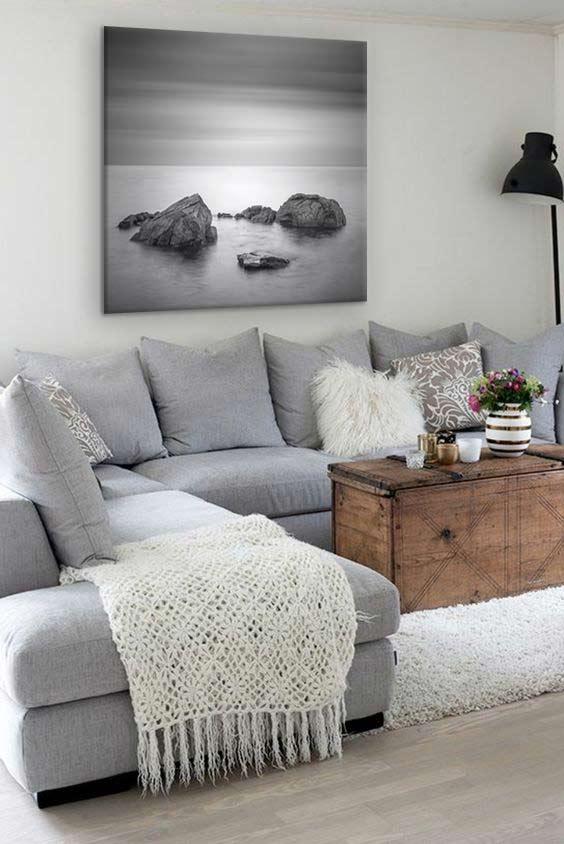 tableau-noir-et-blanc-carre-deco-salon