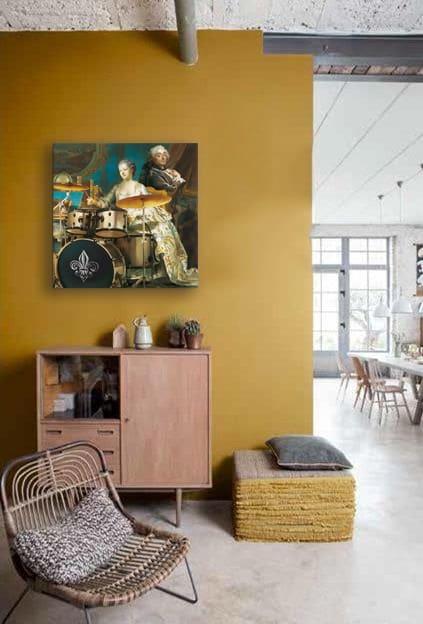 tableau-original-izoa-mur-jaune