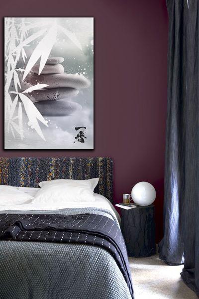 tableau moderne et original izoa chambre zen