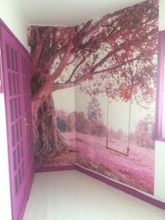 poster mural textile izoa
