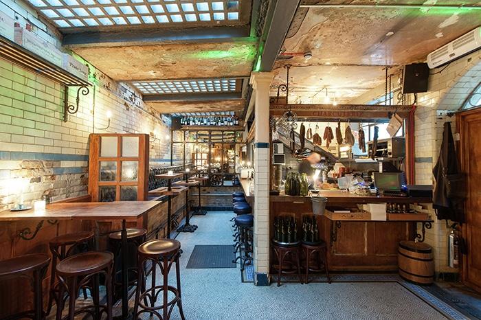 Bar wine & charcuterie Clapham