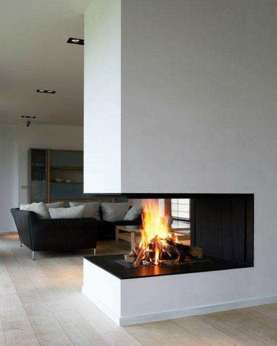 cheminée design et moderne