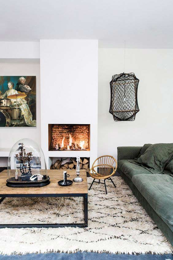 Une cheminée pour un intérieur chaleureux et convivial - Blog Toile ...