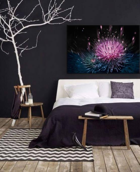 decoration-chambre-noir-moderne