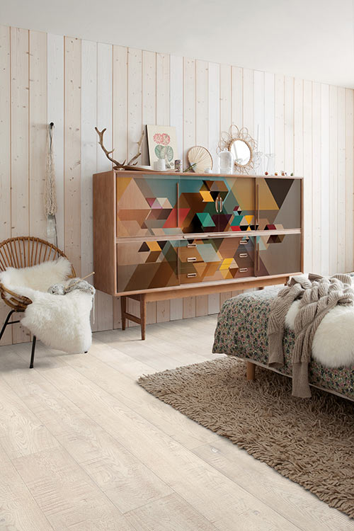 relooking meuble avec un papier peint izoa