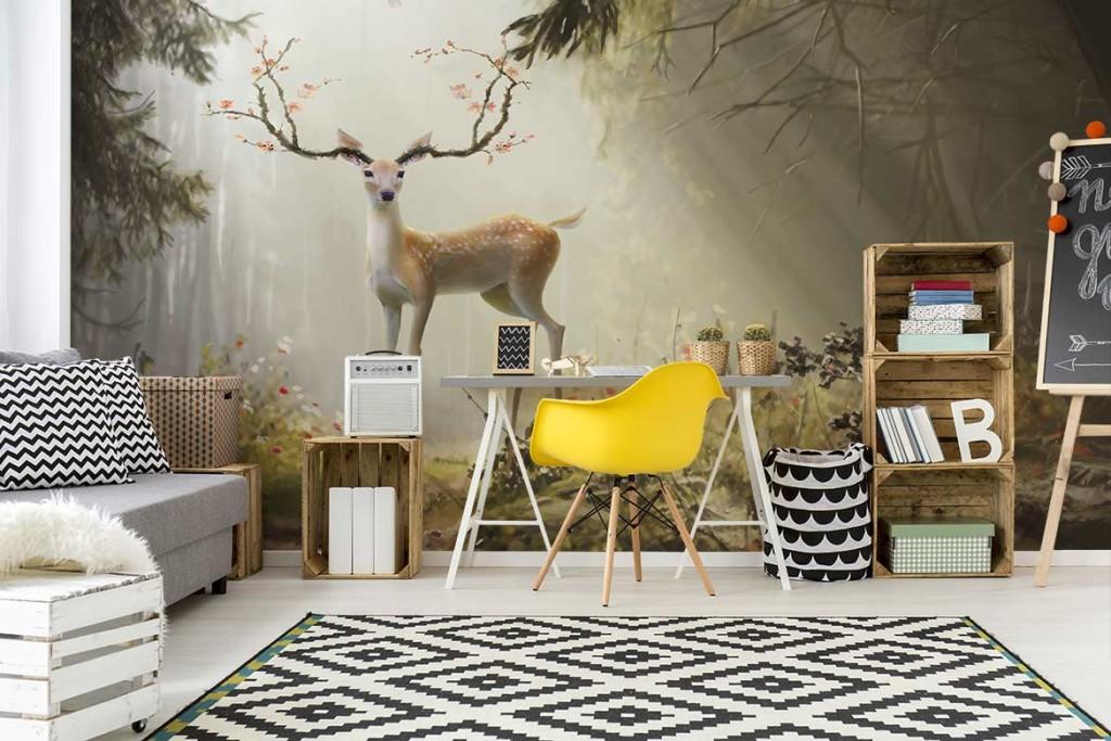nouveau tableau d co et papier peint cefrisier blog izoa. Black Bedroom Furniture Sets. Home Design Ideas