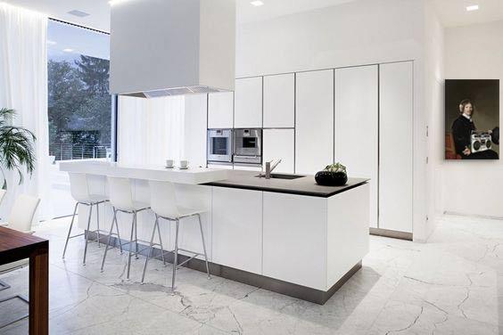 deco-cuisine-contemporaine-blanche