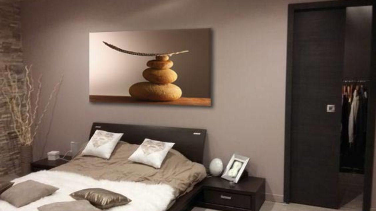 Deco Salon Marron Et Bleu quel tableau au dessus d'un canapé marron ? - blog izoa