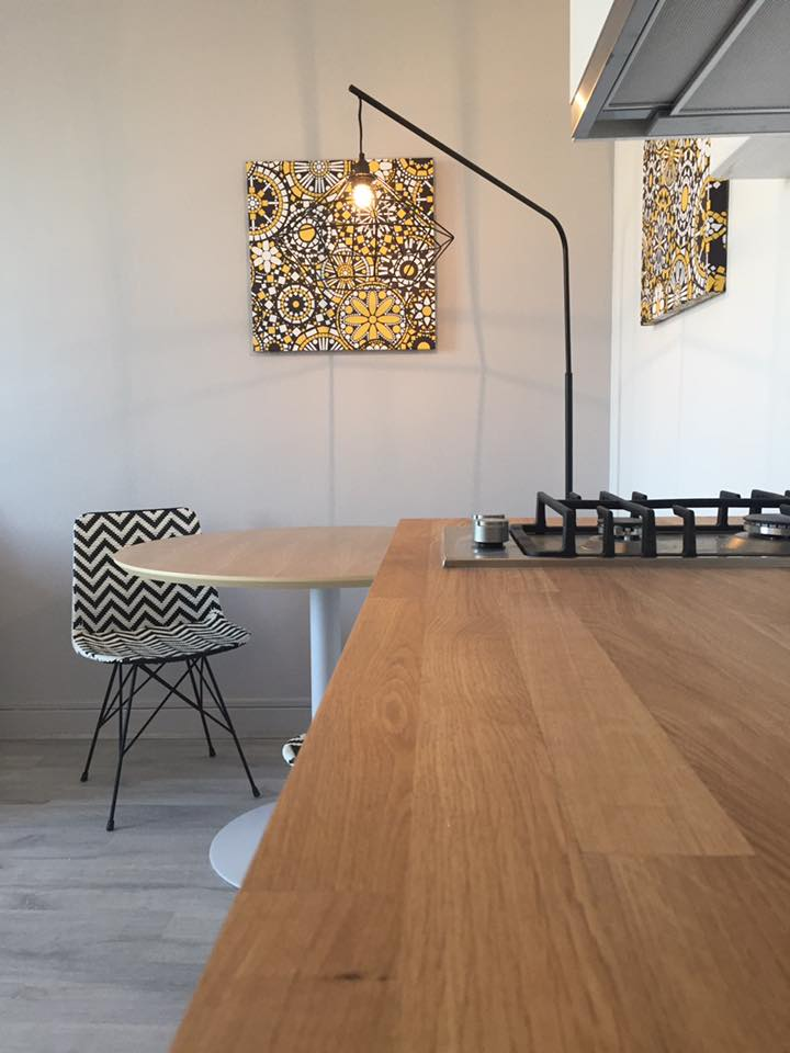 coin salle à manger studio moderne