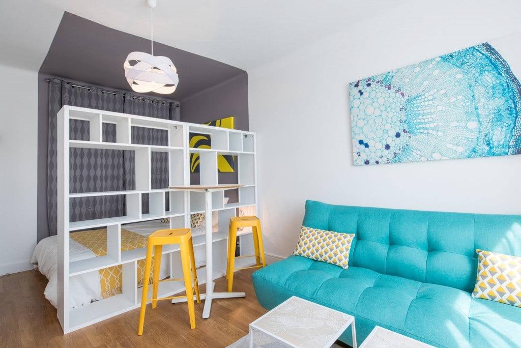 décoration studio couleurs tendances