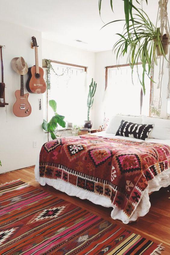 Décoration de chambre style bohème - Blog Izoa
