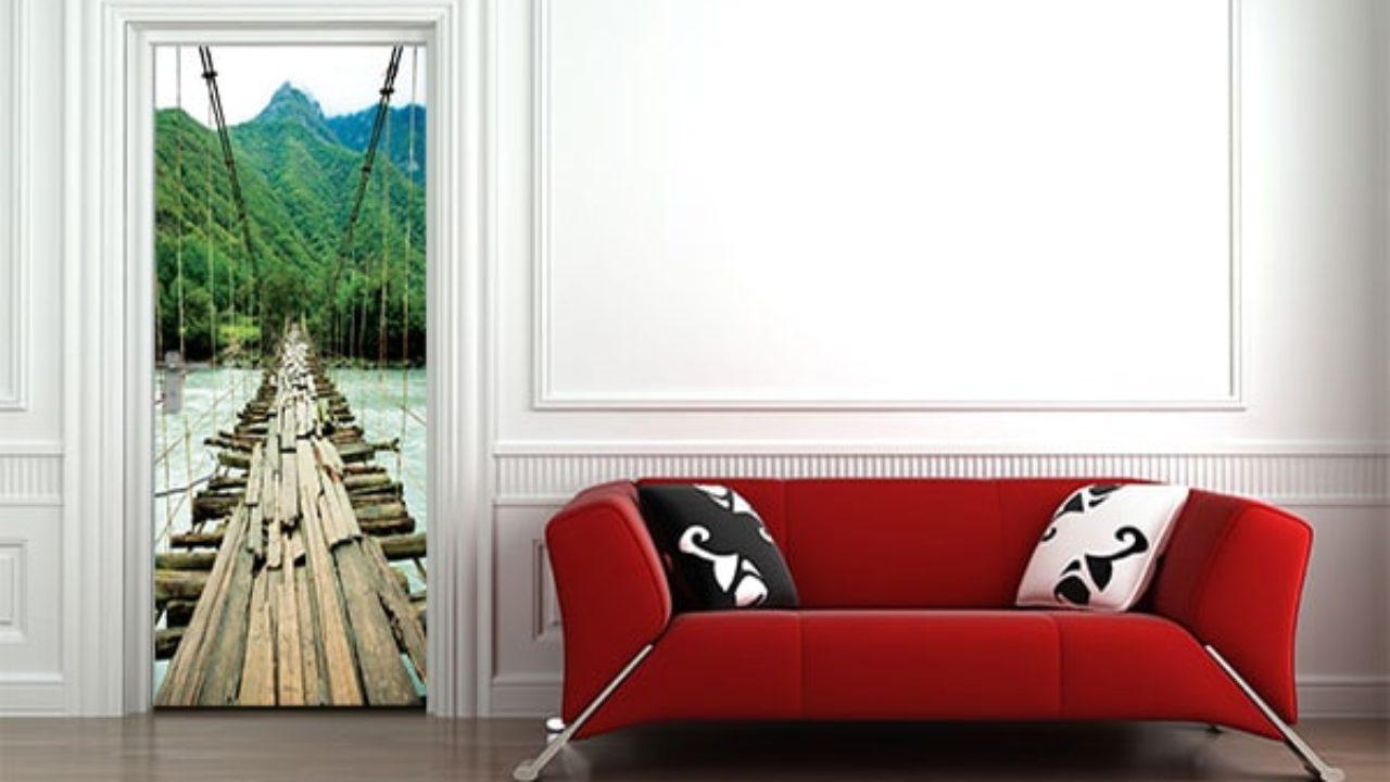 Tapisser Porte De Placard décorer ses portes, avec un sticker porte - blog izoa
