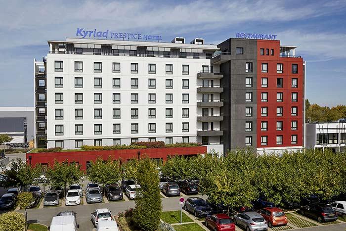Hotel Kyriad Lyon St Priest