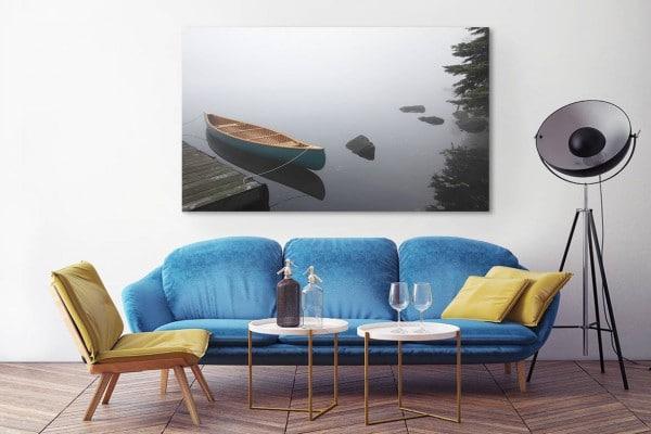 tableau izoa mural barque
