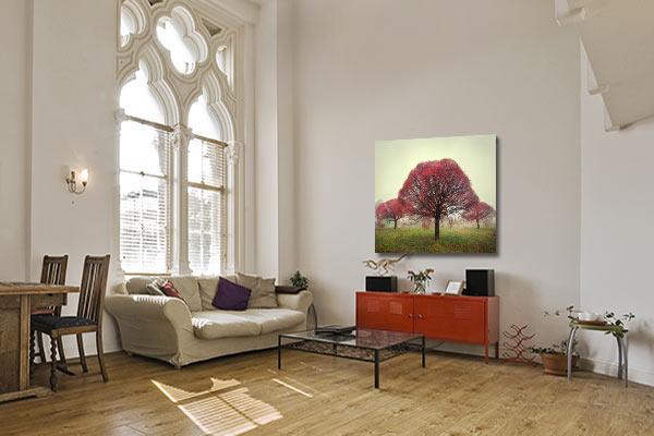 tableau déco original arbre